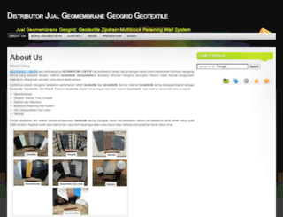 geotextile.web.id screenshot
