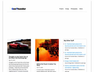 geothunder.com screenshot