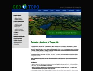geotopo.ro screenshot