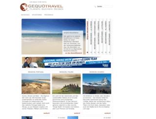 gequo-travel.de screenshot