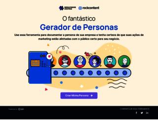 geradordepersonas.com.br screenshot