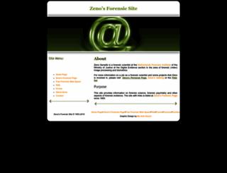 geradts.com screenshot