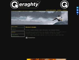 geraghtyshapes.com screenshot