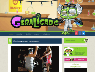 geraligado.blog.br screenshot