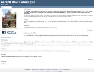 gerarddou.org screenshot