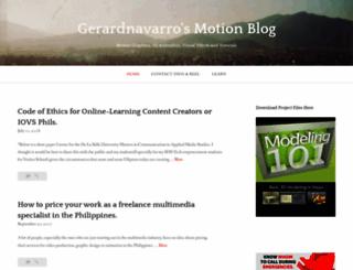 gerardnavarro.wordpress.com screenshot
