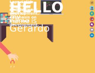 gerardolarios.com screenshot