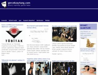 gercekzaytung.com screenshot