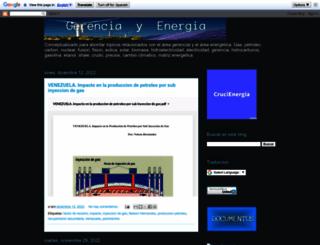 gerenciayenergia.blogspot.com screenshot