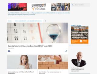 gerenciaytributos.blogspot.com screenshot