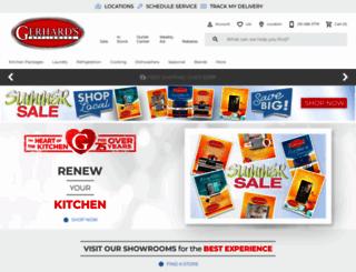 gerhardsappliance.com screenshot