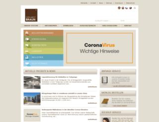 gerhardtbraun.com screenshot