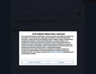 gerinces.blog.hu screenshot