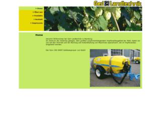gerl-landtechnik.de screenshot