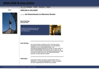 gerling-und-partner.de screenshot