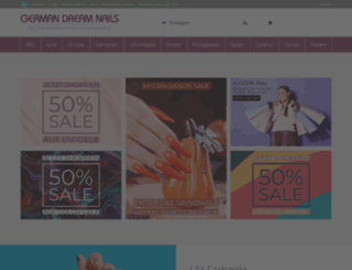 german-dream-nails.com screenshot