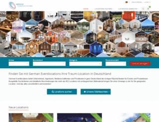 german-eventlocations.de screenshot
