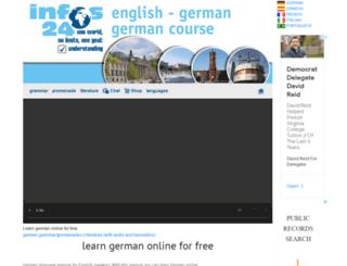 german-grammar.de screenshot