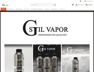 german-stil-vapor.com screenshot