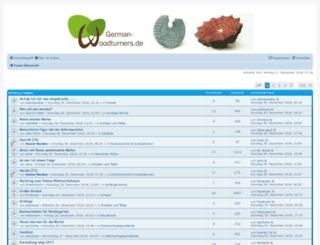 german-woodturners.de screenshot