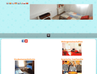 german.student-accommodation-madrid.com screenshot