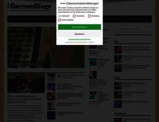 germanblogs.de screenshot