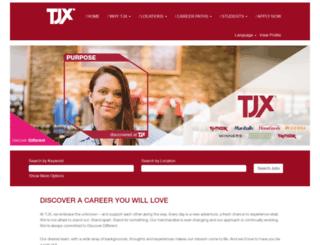 germancareers.tkmaxx.com screenshot