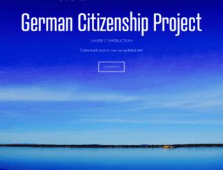 germancitizenshipproject.com screenshot