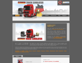 germantrucksimulator.com screenshot
