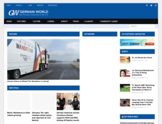 germanworldonline.com screenshot