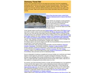 germany-travel.net screenshot