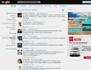 germany.inagist.com screenshot