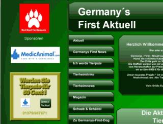germanys-first-aktuell.de screenshot