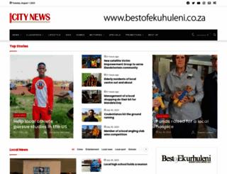germistoncitynews.co.za screenshot
