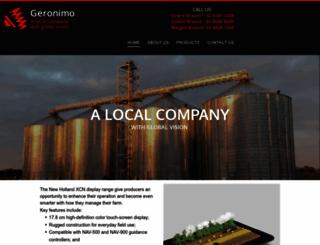 geronimo.com.au screenshot