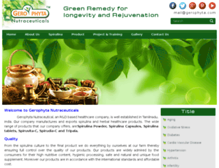 gerophyta.com screenshot