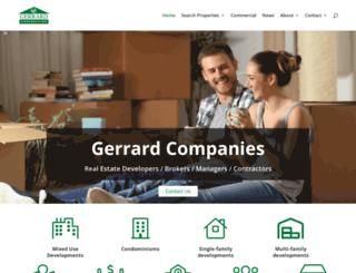 gerrardcompanies.com screenshot
