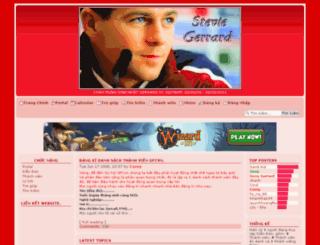 gerrardfanclub.3forum.biz screenshot