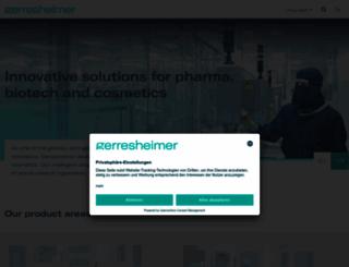 gerresheimer.com screenshot
