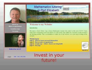 gerritolivier.com screenshot