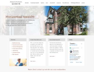 gerrits-financieel.nl screenshot