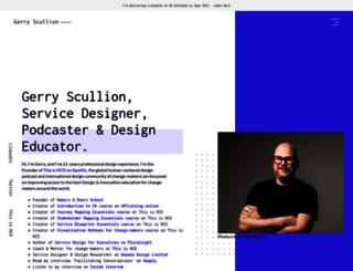 gerryscullion.com screenshot