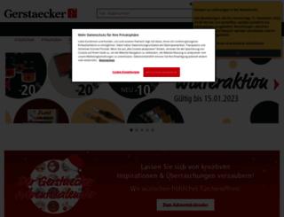 gerstaecker.ch screenshot