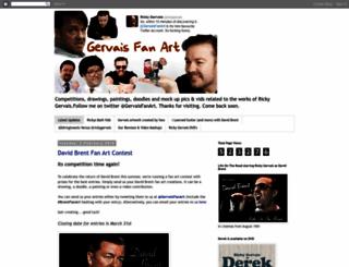gervaisfanart.blogspot.co.uk screenshot