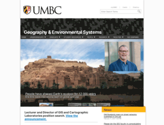ges.umbc.edu screenshot