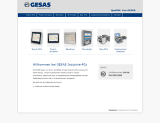 gesas-industriepc.de screenshot