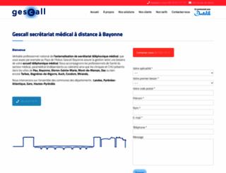 gescall-adour.fr screenshot