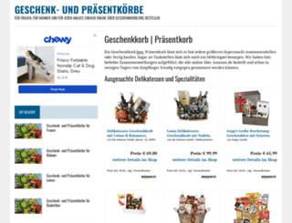 geschenkedienst24.de screenshot