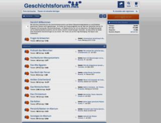 geschichtsforum.de screenshot