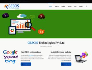 gescis.com screenshot